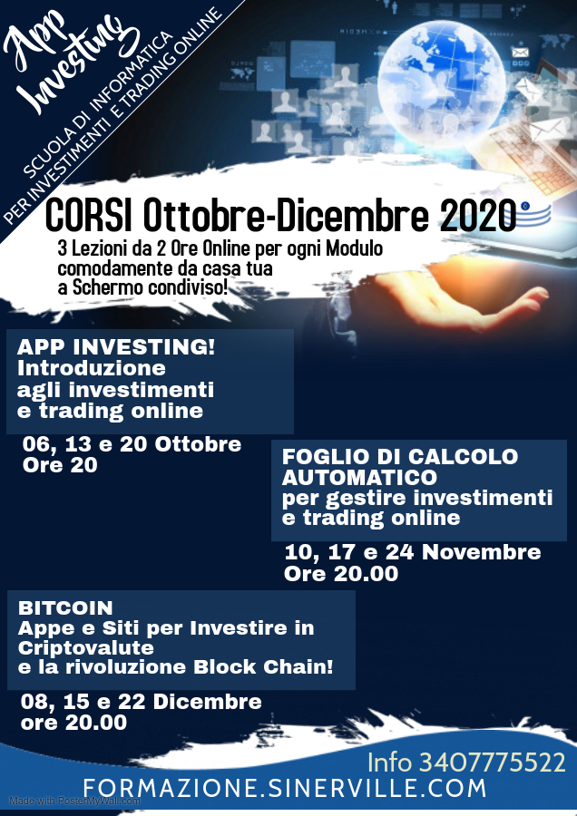 Corsi App Investing online